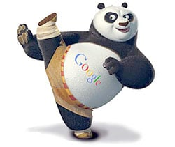 google referencement panda